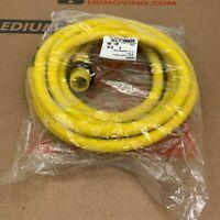 Brad Harrison Woodhead 32408 Quick-Change Cordset Cable 3P 6 Ft 10-3 Neoprene