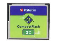 Verbatim 2GB Compact Flash (CF) Flash Card Model 47012