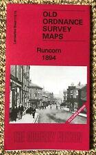 Godfrey Edition Old Ordnance Survey MAP of RUNCORN 1894 Coloured Edition NEW
