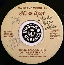 Majic & Moonlite - Cause Its You / Close Encounters 45 Modern Soul Alien Country
