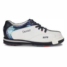 Dexter SST 8 Pro White/Crackle/Black Womens Interchangeable Bowling Shoes