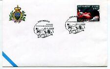 2001-01-10 San Marino Ferrari campione del mondo 2000 ANNULLO SPECIALE Cover