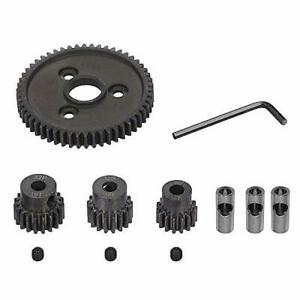 Rc Metal Steel 54T 32P Spur Gear with 15T/17T/19T Pinions Gear Sets Replace