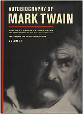 The Autobiography of Mark Twain: Vol 1 - First Edition Hardcover