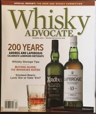 Whisky Advocate 110 Whiskies Rated Smoked Beers Summer 2015 FREE SHIPPING