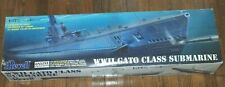 Revell WWII Gato Class Submarine model 1:72 scale. Unused but opened box