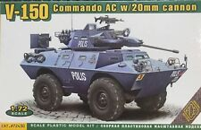 1/72 Modern armoured Car: V-150 Commando W/20mm Cannon [USA] : ACE Models