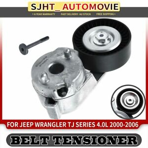 Automatic Drive Belt Tensioner for Jeep Wrangler TJ Series 2000 2001-2006 4.0L