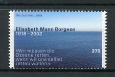 Germany 2018 MNH Elisabeth Mann Borgese 1v Set Environment Oceans Stamps