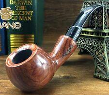 NEW Handmade Natural Wood Tobacco Smoking Pipe 9mm Filter Nice Gift MX203BH