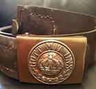 Imperial German,WW1,Unit Marked/Dated 1915 Prussian Enlisted Man's Belt/Buckle