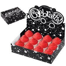 Celebrate Black & White Cupcake Display Box from Wilton #1689- NEW