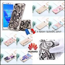 Etui housse coque silicone 3D Diamond TPU Case Cover Huawei Y5 Prime (2018)