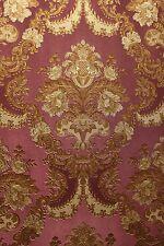 Vinyl Tapete Barock Retro # lila/gold # Fujia Decoration # 22831