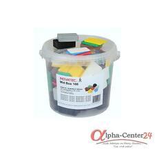 160 Kunststoff Unterlegplatten 60x40x1-20 in Box Abstandshalter Montageklötze