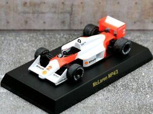 Kyosho 1/64 McLaren F1 Collection Mclaren MP4/3 No.2 1987 Stefan Johansson