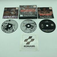 Metal Gear Solid Silent Hill Demo PS1 PlayStation 1 PAL Big Box Complete Tested