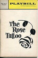 Maureen Stapleton Christopher Walken Tennesse Williams The Rose Tattoo Playbill