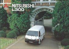 Truck Brochure - Mitsubishi - L300 series - DUTCH language - c1993 (T2260)
