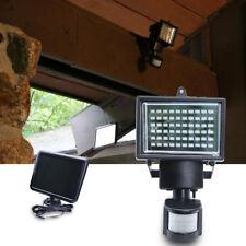 2x 60 LED Outdoor Solar Power Motion Sensor Garden Floodlight PIR Security Light
