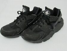 Nike Air Huarache Low Top Men's Sneakers Sz 11.5 Triple Black