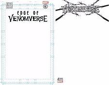 VENOMVERSE 1 BLANK FOR SKETCH VARIANT NM VENOM 9/6 Marvel Edge of Venomverse