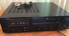 Denon DRA-355 Stereo Amp Amplifier GREAT SOUND! EXCELLENT!
