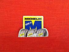 rare vintage  1980's MICHELIN BIBENDUM  tires decal sticker michelin MX/MXL/MXV
