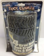 4 Nylint Rock Crawler Tires And Rims Aired Down Jeep Wrangler Unlimited New
