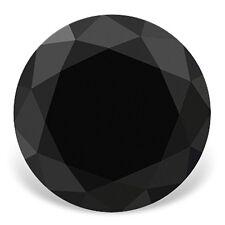 0.50 CT Extra Fine Black Diamond - Round - Extra Fine Grade Loose Black Dimaond