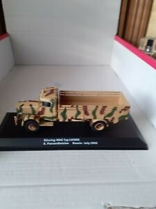 Superbe camion Bussing Nag L 4500 S Wehrmacht Russie 1943 Ixo Altaya 1/43