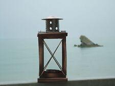 Ship Rectangular Copper Lantern -Lamp - Port Side starboard Masthead / Nice Gift