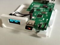 AMIGA 500 GOTEK DRIVE - 3D PRINTED BRACKET - OLED DISPLAY - FLASH FLOPPY