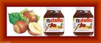 2X FERRERO NUTELLA CHOCOLATE HAZELNUT SPREAD 67 OZ COCOA SKIM MILK 33.5 OZ/2