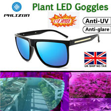 More details for hydroponics grow room light glasses hps&mh anti-uv goggles visual eye protection