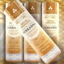 Ben & Anna Natural Soda desodorante Indian mandarina 60 gstick bio plástico libre Vega