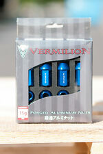 Aluminium Alloy Wheel Tapered 60 Degree Lug Nuts M12x1.25 BLUE Bolt 5x114