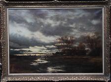 JOHN REID MURRAY 19thC ART SCOTTISH GLASGOW BOY FRENCH LANDSCAPE OIL PAINTING
