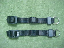 BUCKLES, KEEPERS, SPLIT RINGS, & NYLON FOR  REPAIR OF A CAMERA STRAP