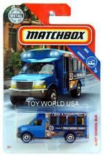 HD2 MXB MATCHBOX bleu GMC bus scolaire