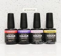 Artistic Nail Design Colour Gloss SET OF 4 Colors Gel Lot Kit 0.5 oz - Ship 24H