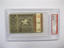 1955 All Star Game At Milwaukee County Stadium in Milwaukee Ticket PSA Cert