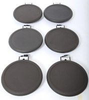 6x Roland PD-8 Dual Trigger Electronic Snare or Tom Drum Pads