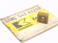 NEW SURPLUS 2PCS. KENNAMETAL  SNMG 543  GRADE: KC210  CARBIDE INSERTS