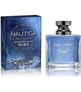 NEW Men's Nautica VOYAGE N-83 Eau De Toilette EDT Spray 1.7oz 50 ml. SEALED
