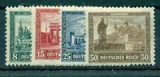Echte Briefmarken aus dem Deutschen Reich (bis 1945) mit Bauwerks-Motiv