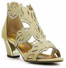 Women Evening Dress Shoes Rhinestones High Heels Platform Wedding Black Lime-3