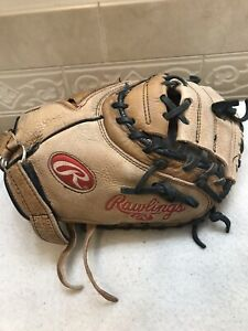"Rawlings CSCMFPY Girl's 32"" Fastpitch Softball Catchers Mitt Right Throw"