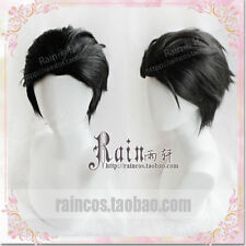 YURI!!! on ICE Men Short Hair Cosplay Wig Anime Katsuki Yuri Harajuku Black wigs