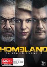Homeland : Season 1 2 3 4 5 : NEW DVD Box Set